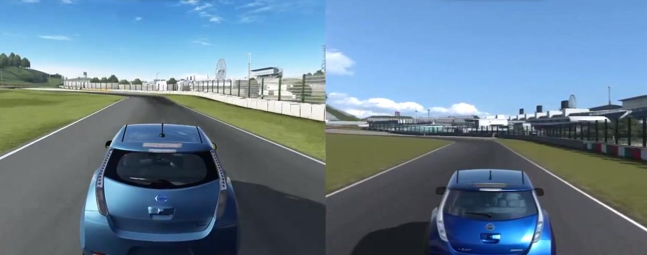Gran Turismo 6 Vs Forza 5 Physics Comparison Video VirtualR
