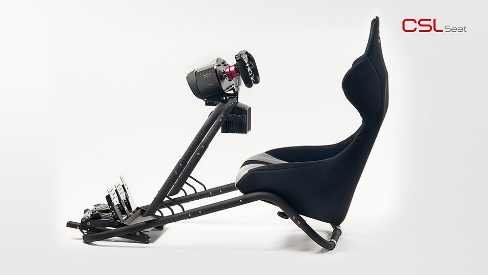 Srt Fanatec Csl Seat Video Review Virtualr Net Sim