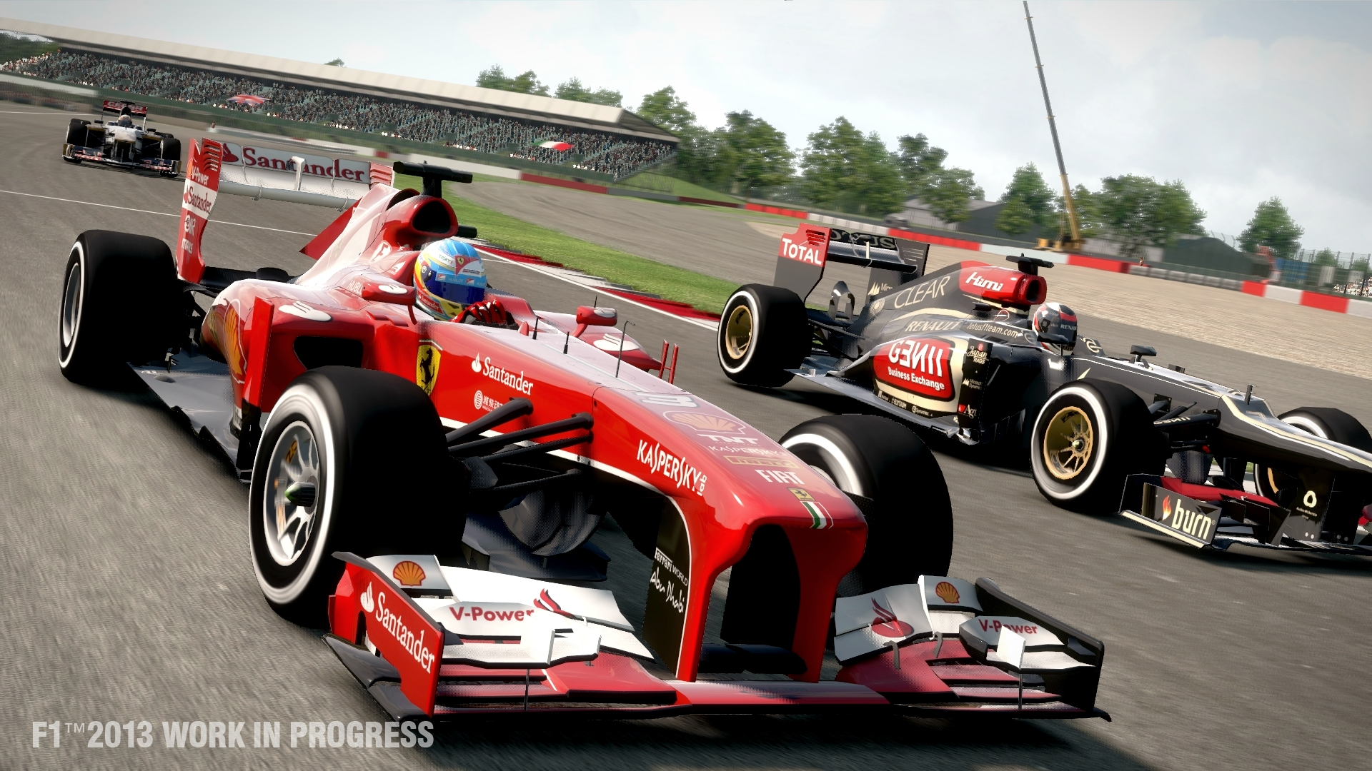 F1 2013 - Fourth PC Patch Released | VirtualR - Sim Racing News