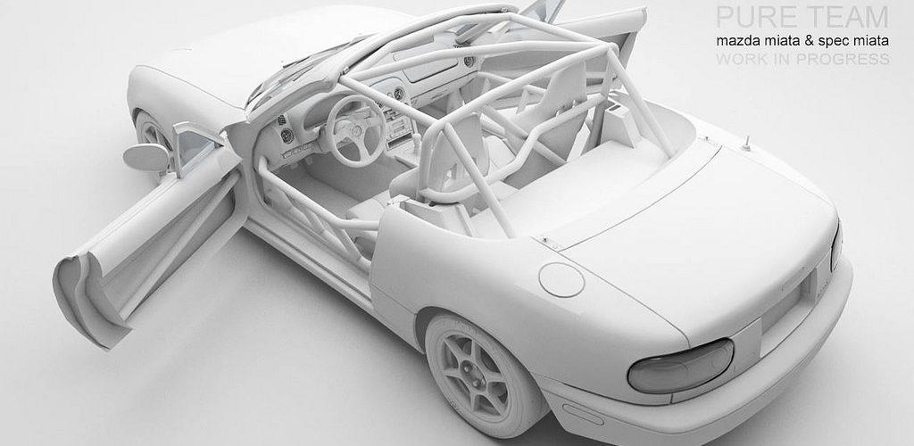 Mazda Miata for Assetto Corsa – New Previews – VirtualR net
