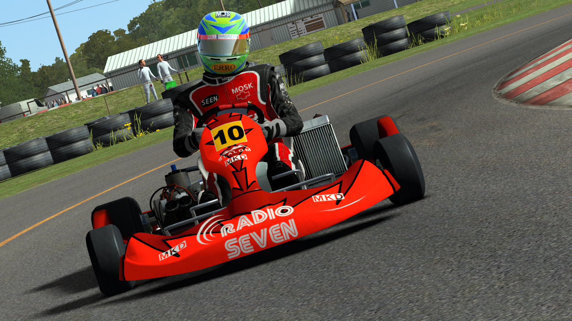 rfactor 2 kart previews video 100