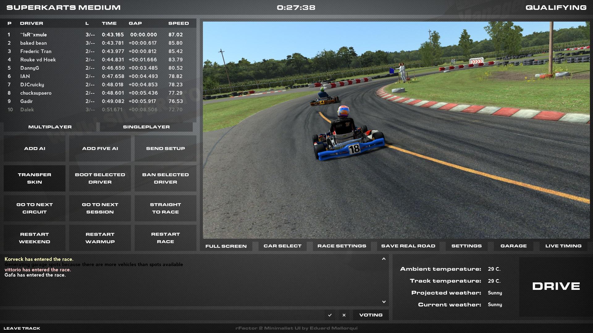 rFactor 2 – Minimalist UI Released – VirtualR.net – Sim ...