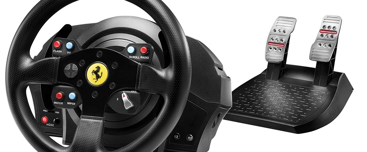 Thrustmaster T300 RS & Ferrari GTE Wheel – Revealed