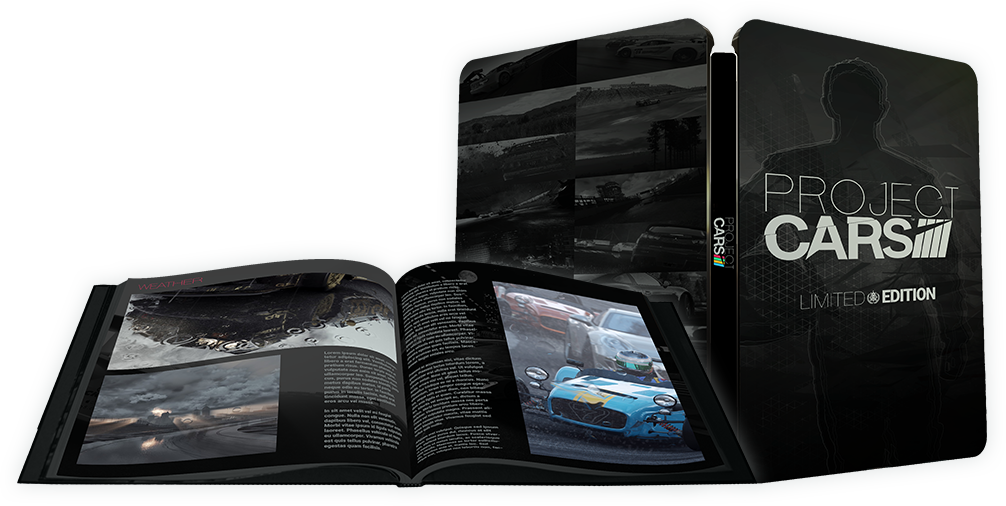 project cars limited edition pre order launched sim racing news. Black Bedroom Furniture Sets. Home Design Ideas
