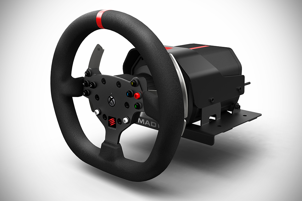 Mad Catz Pro Racing Force Feedback Srt Review Virtualr