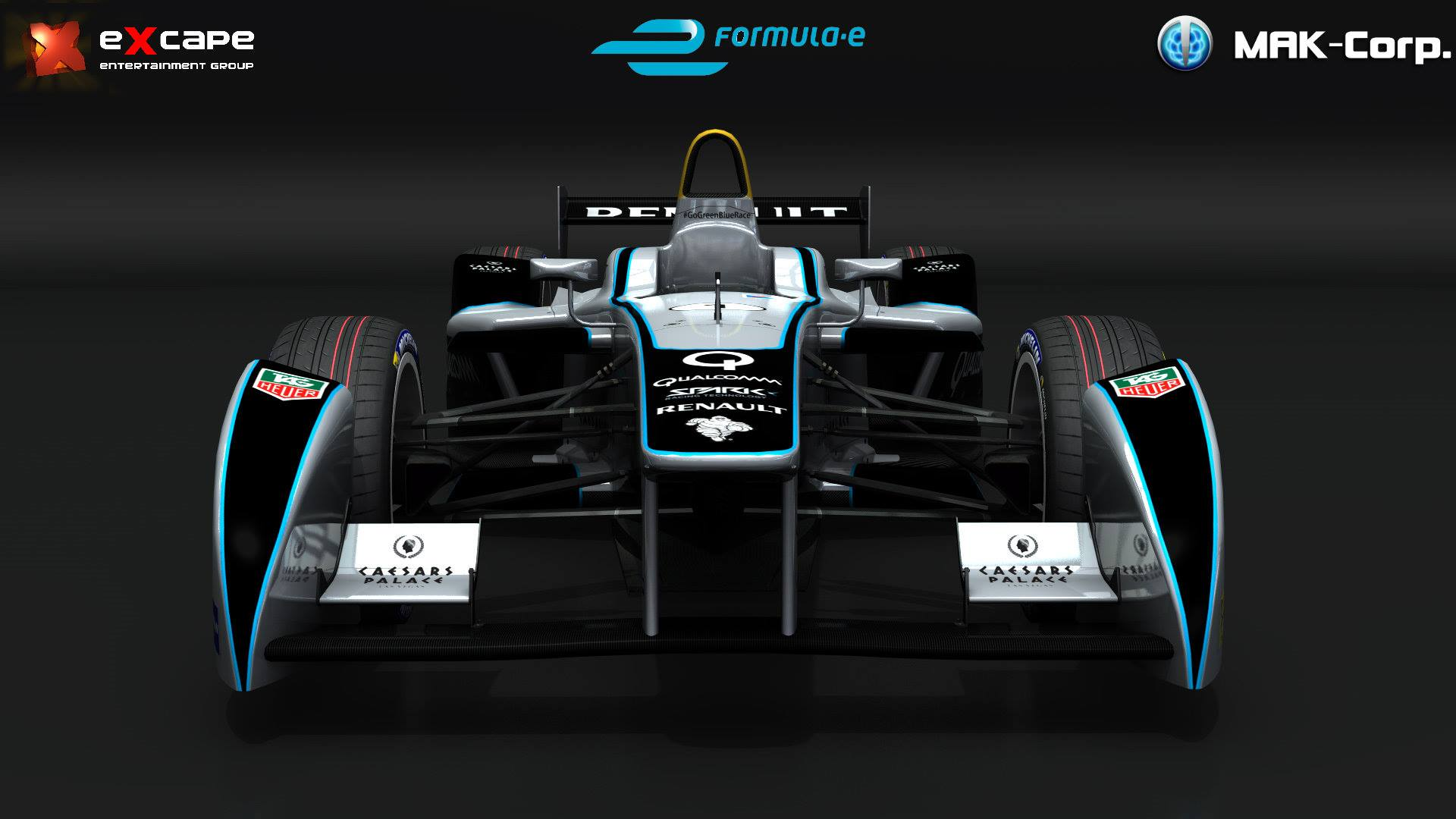 Mak Corp Formula E Car Unveiled Virtualr Net 100