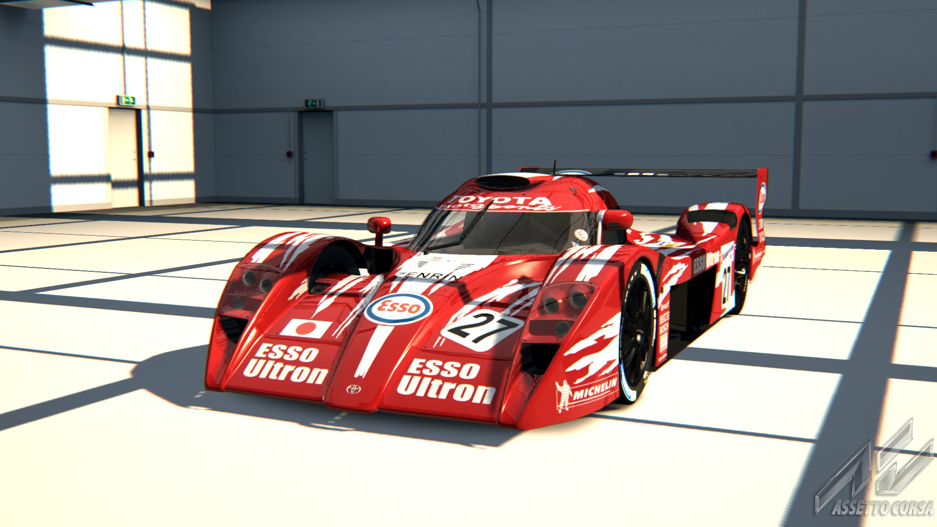toyota gt one for assetto corsa new previews sim racing news. Black Bedroom Furniture Sets. Home Design Ideas
