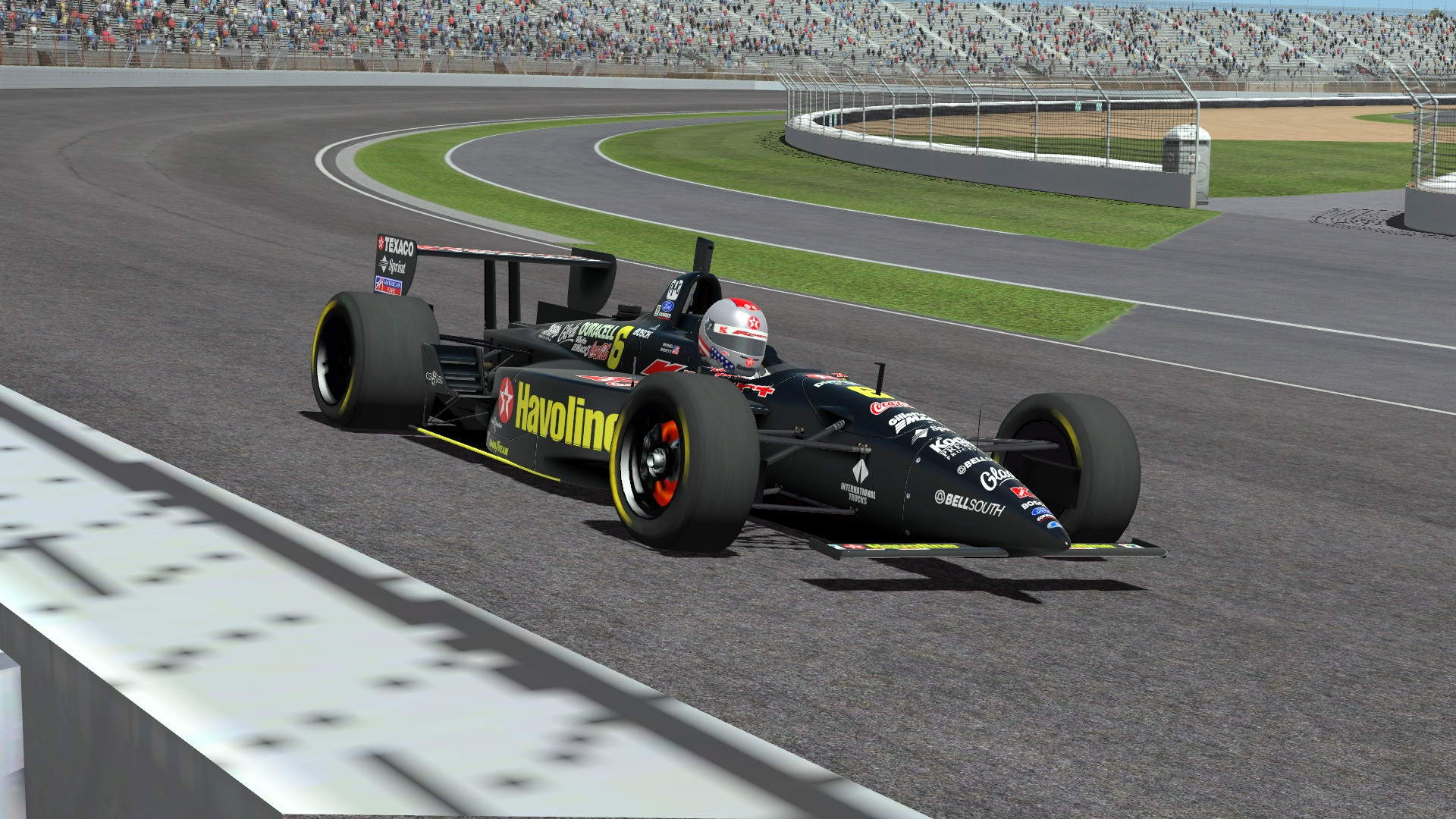 cart factor for rfactor 2 first previews sim racing news. Black Bedroom Furniture Sets. Home Design Ideas