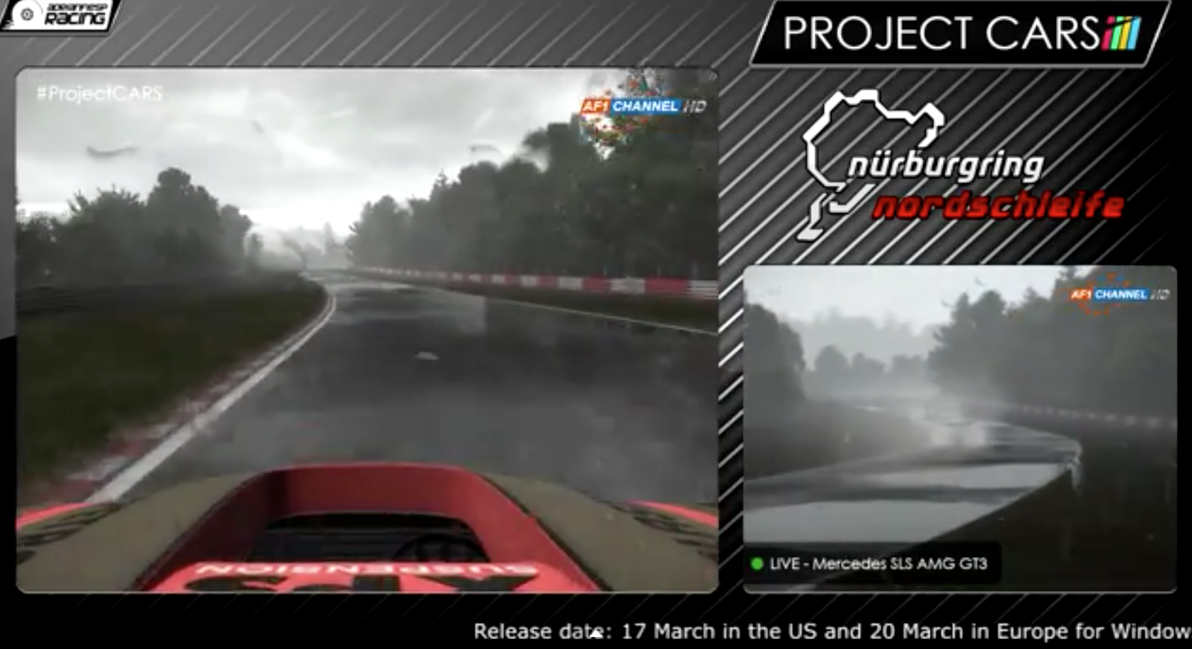 Project Cars Nordschleife Experience Video Virtualr