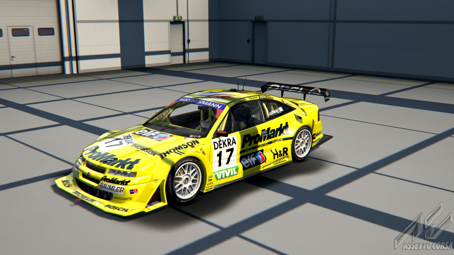 opel calibra dtm 1996 for ac new previews. Black Bedroom Furniture Sets. Home Design Ideas