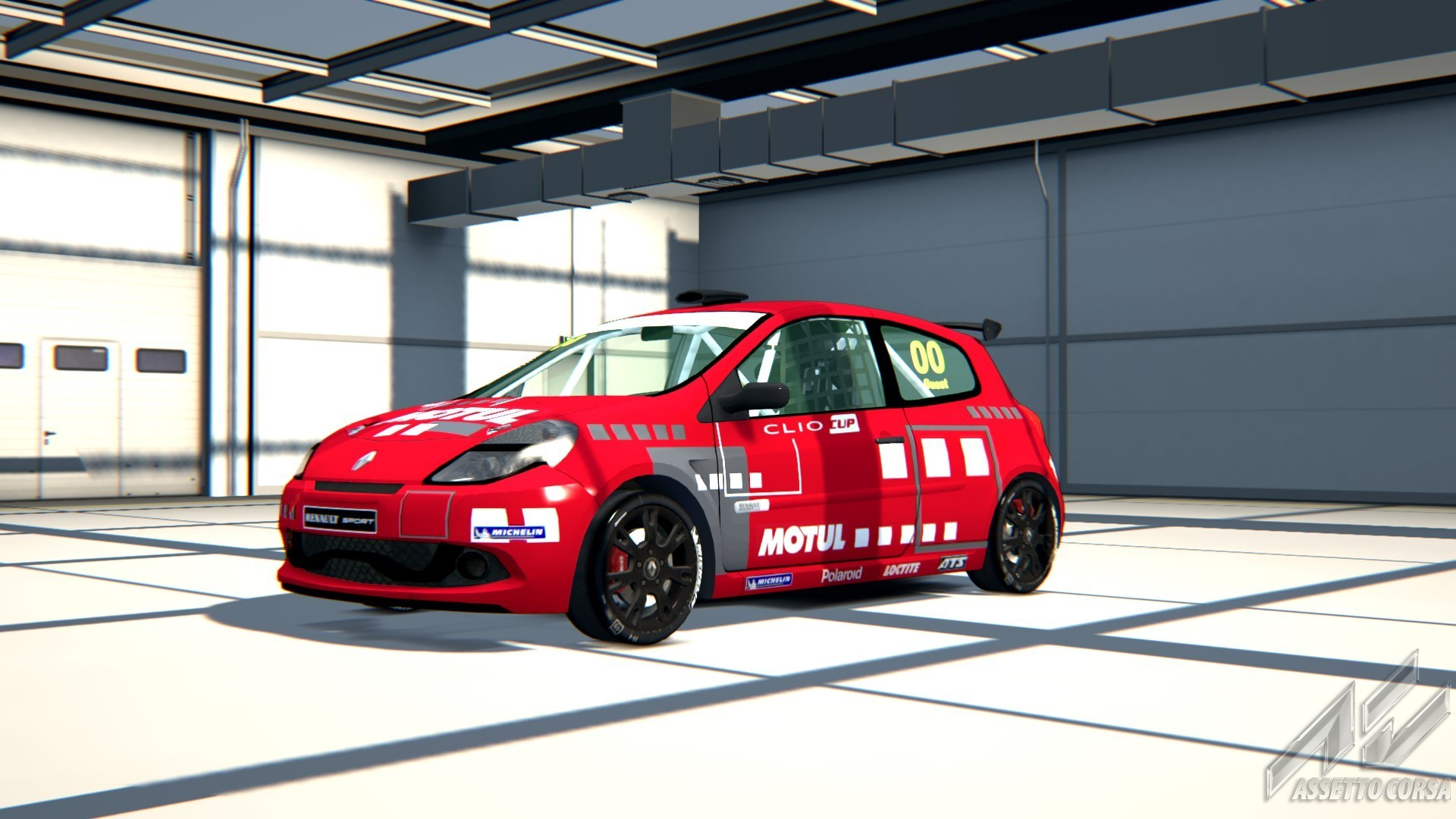 renault clio cup 197 for ac released sim racing news. Black Bedroom Furniture Sets. Home Design Ideas