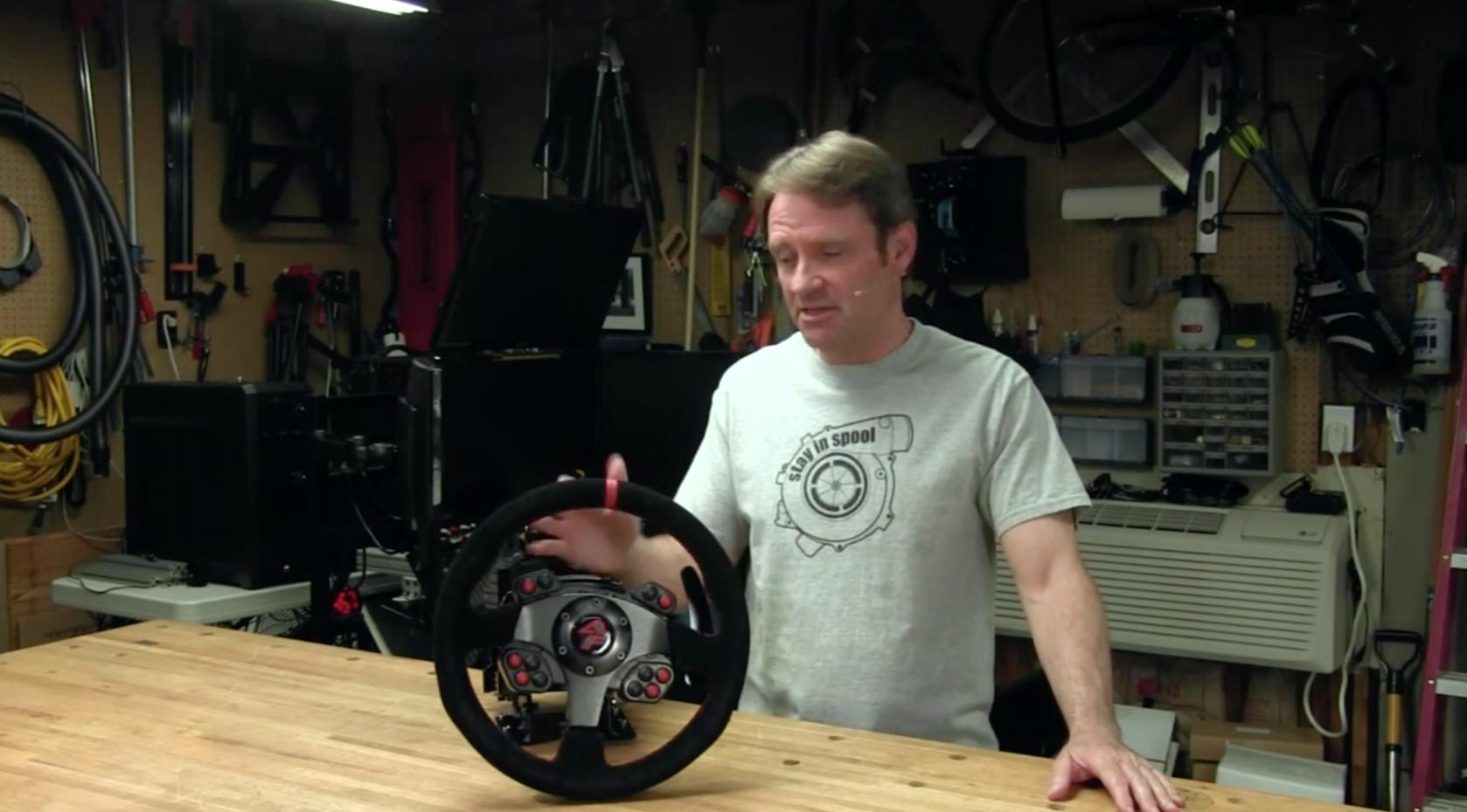 SimXperience Accuforce Wheel – SimGarage Review – VirtualR