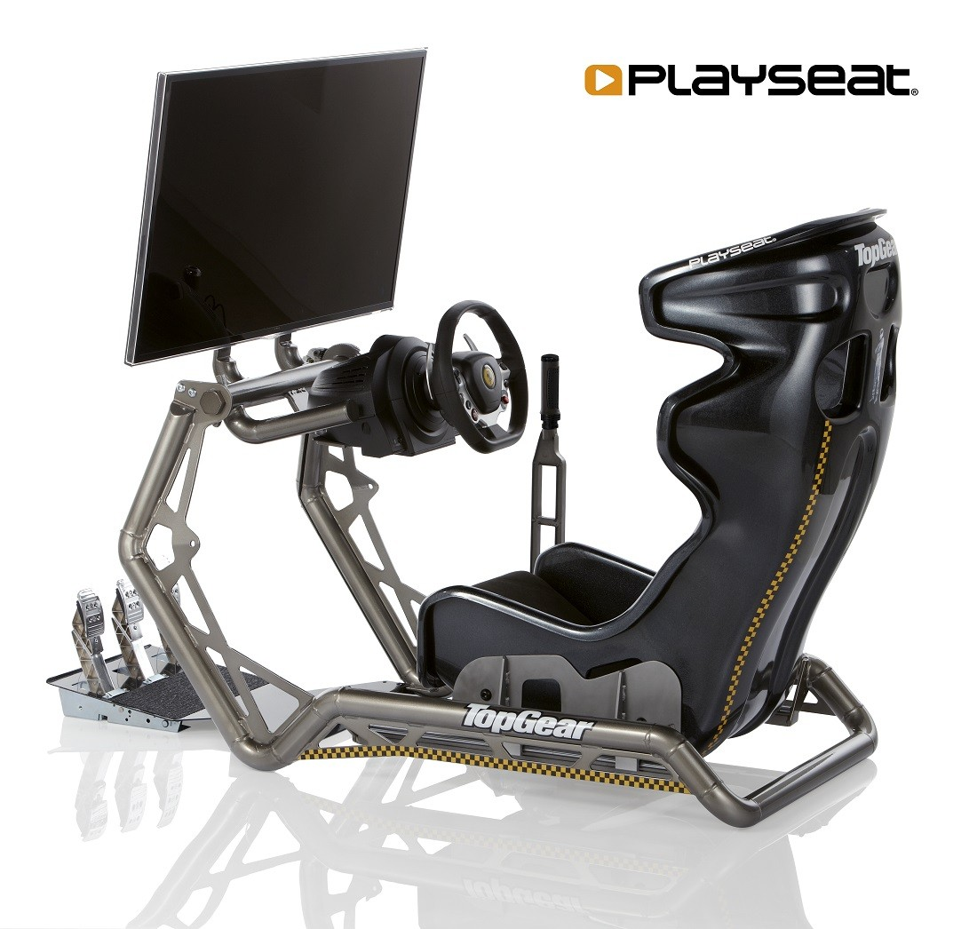 Playseat Xtreme Elite Top Gear Seat Unveiled