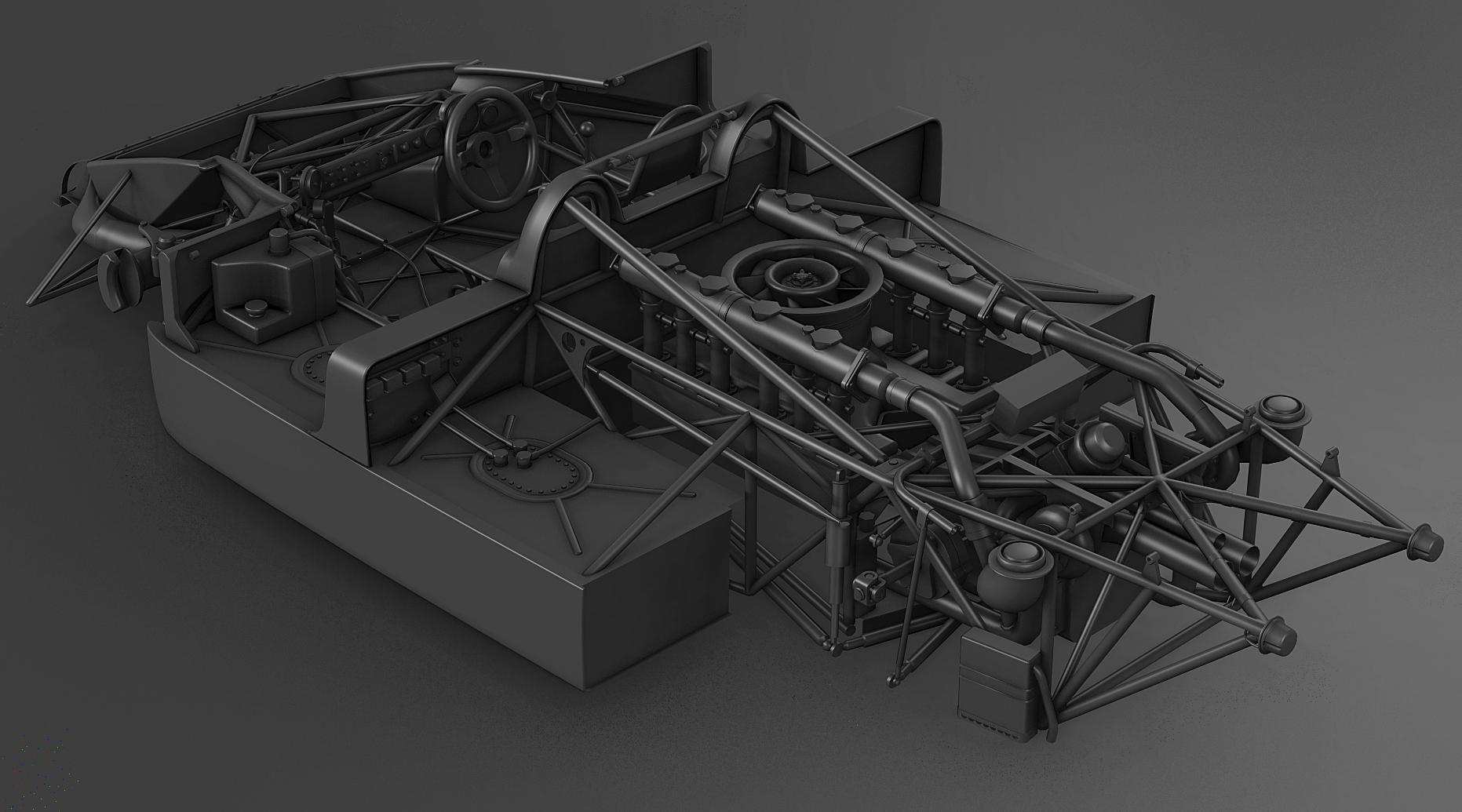 Porsche 917  30 For Ac  U2013 Chassis Detail Previews  U2013 Virtualr