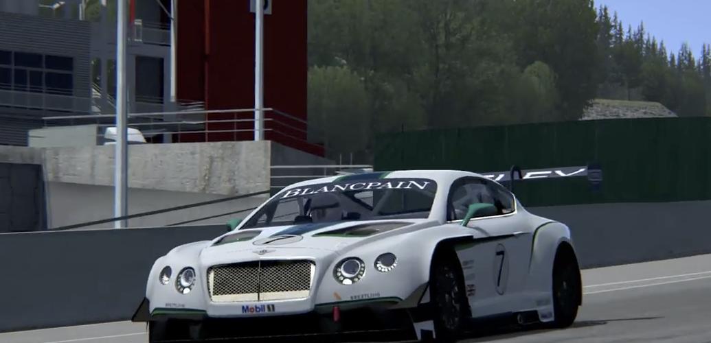 bentley для world racing 2
