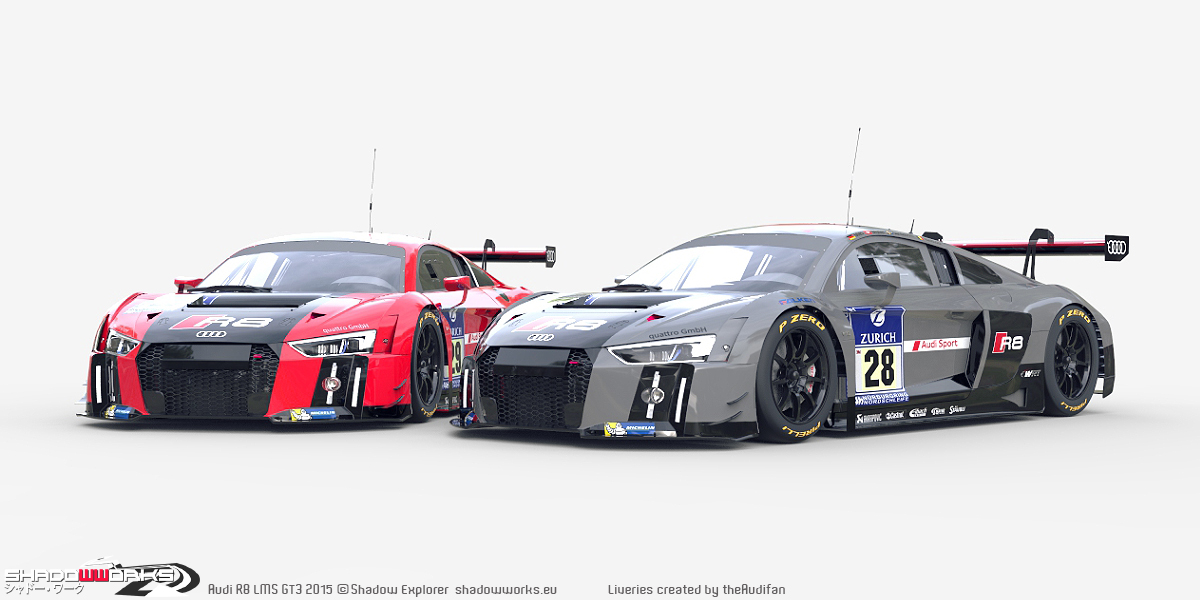 gt3 mod for project cars new audi previews sim racing news. Black Bedroom Furniture Sets. Home Design Ideas