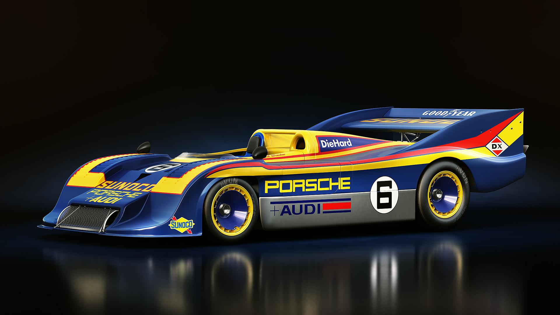Can Am Car >> Porsche 917/30 for AC – Showroom Video – VirtualR.net ...