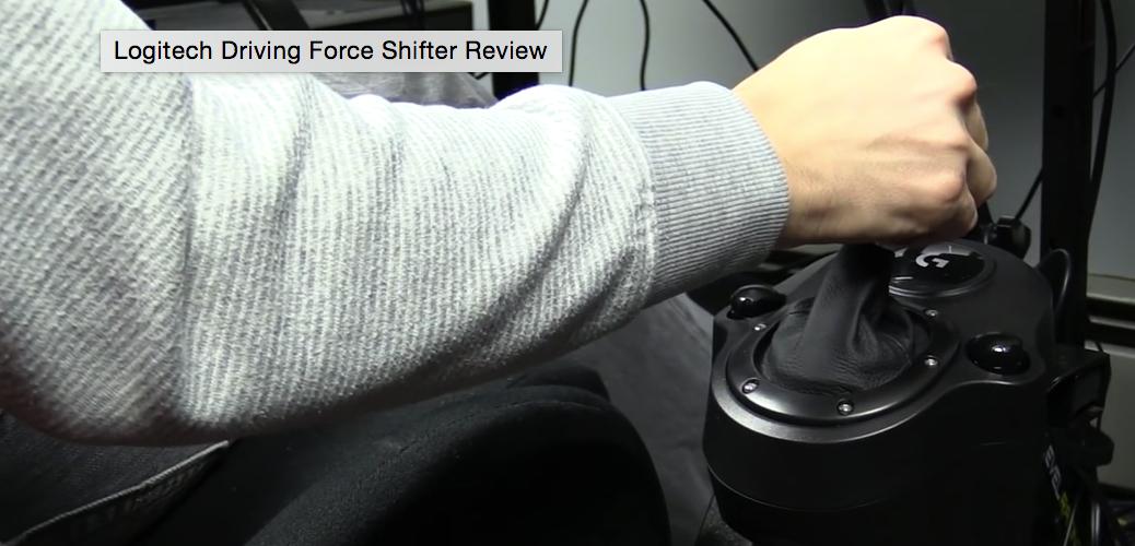 Logitech Driving Force Shifter – ISR Review – VirtualR net
