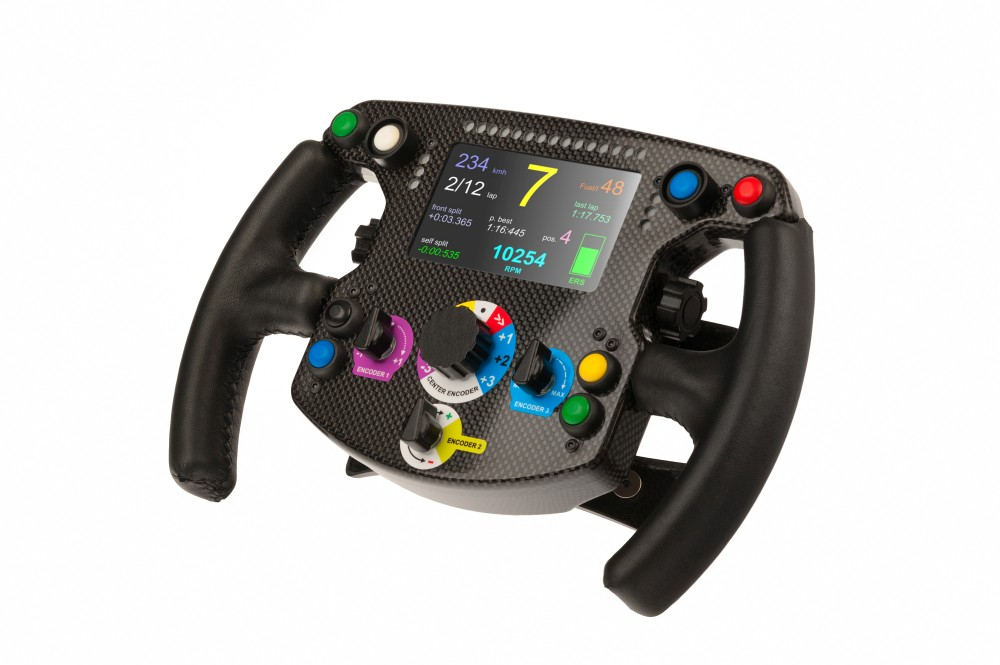 rexing formula steering wheel unveiled sim racing news. Black Bedroom Furniture Sets. Home Design Ideas