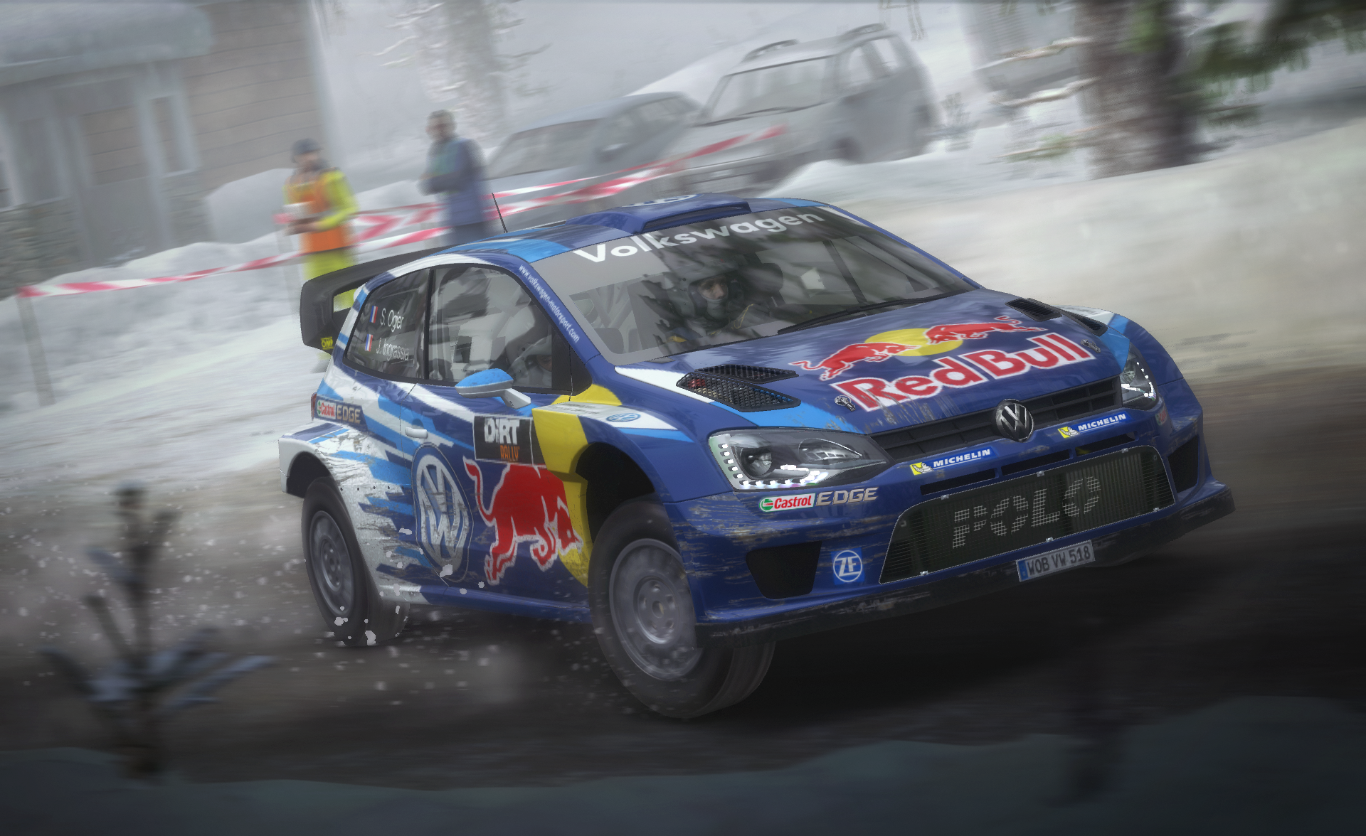dirt rally winter wonderland pack coming. Black Bedroom Furniture Sets. Home Design Ideas