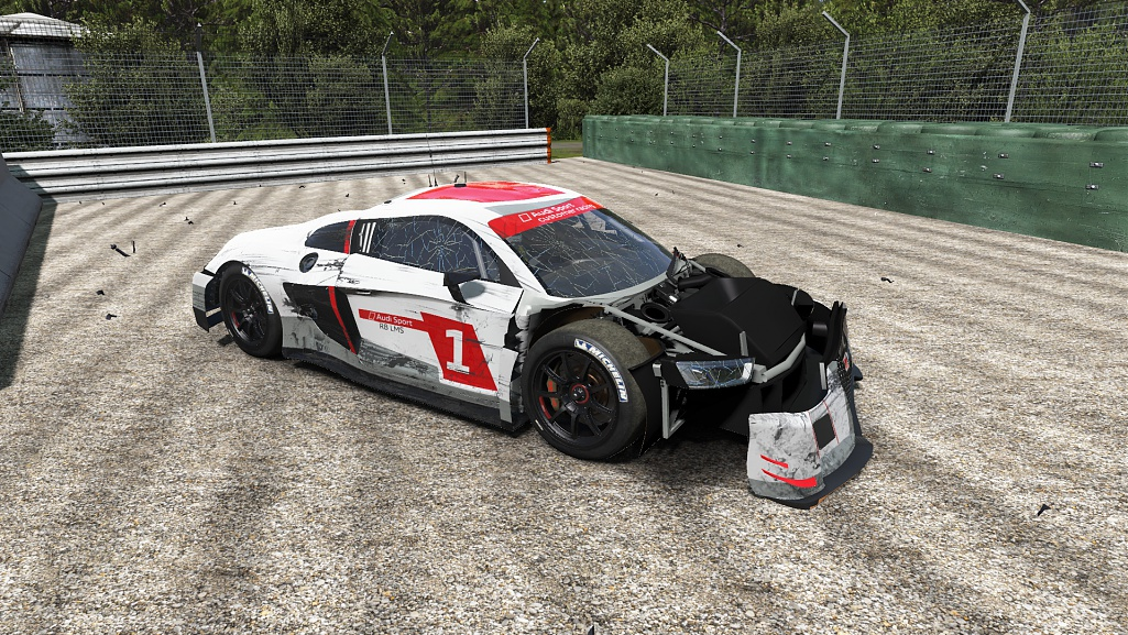 gt3 mod for project cars damage model previews sim racing news. Black Bedroom Furniture Sets. Home Design Ideas