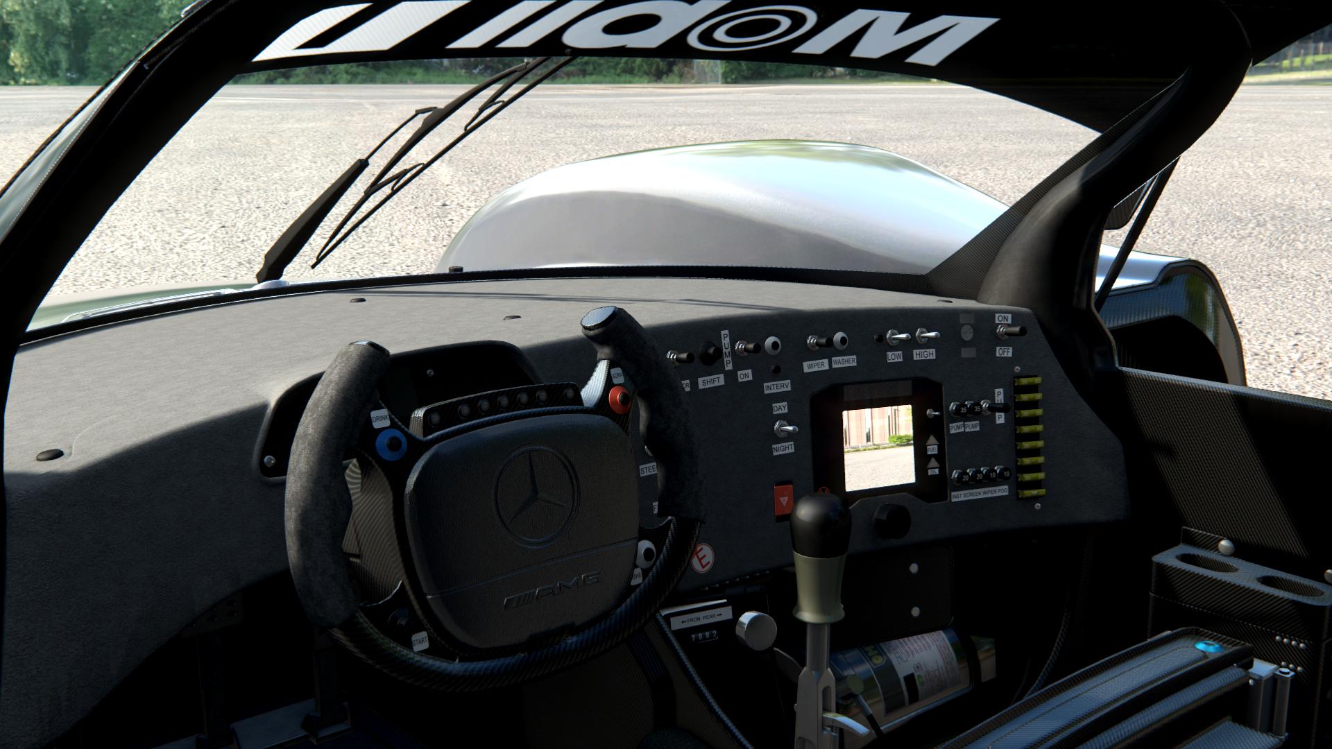 Car Search Engine >> Mercedes CLR-LM for rF2 & AC – New Previews – VirtualR.net ...