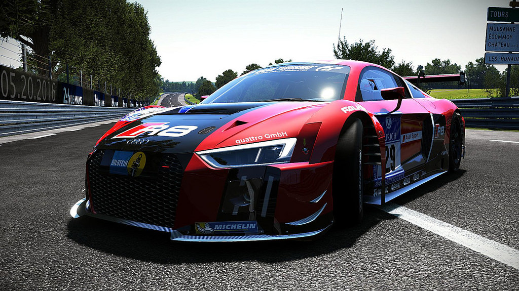 audi r8 lms 2015 for project cars released sim racing news. Black Bedroom Furniture Sets. Home Design Ideas