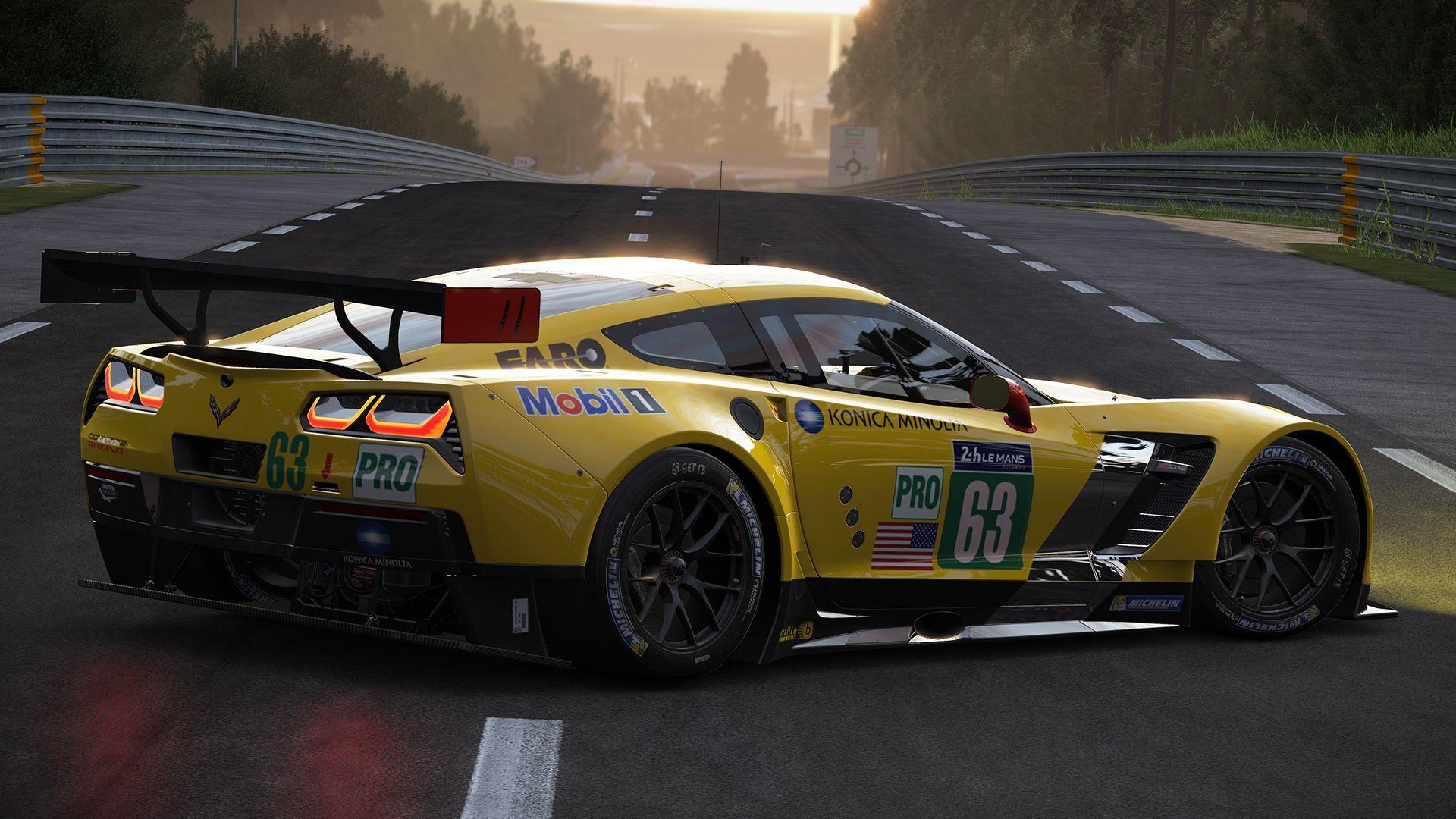 Project Cars More Corvette C7 R Previews Virtualr Net
