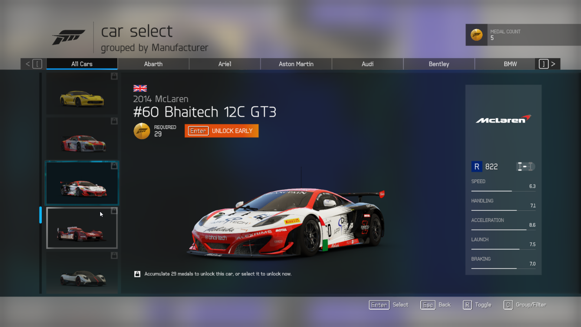 Forza  Best Multiplayer Cars