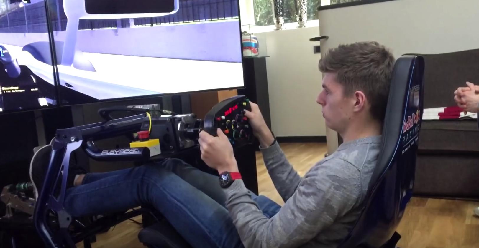 Playseat Visits Max Verstappen Video Virtualr Net
