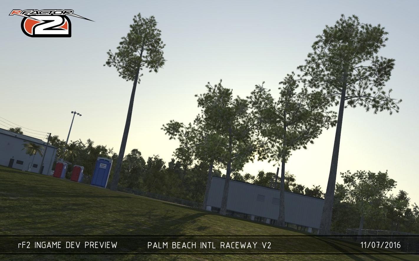 rFactor 2 – Palm Beach Raceway 2 0 Released – VirtualR net