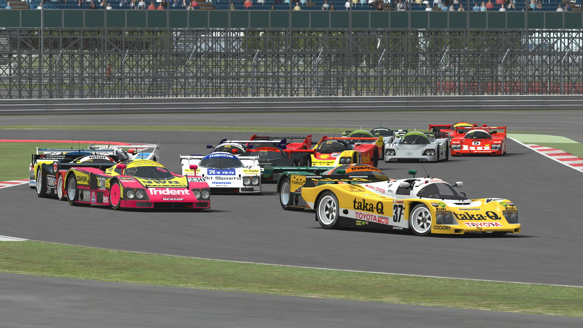Group C 0 95 for rFactor 2 – Released – VirtualR net – 100