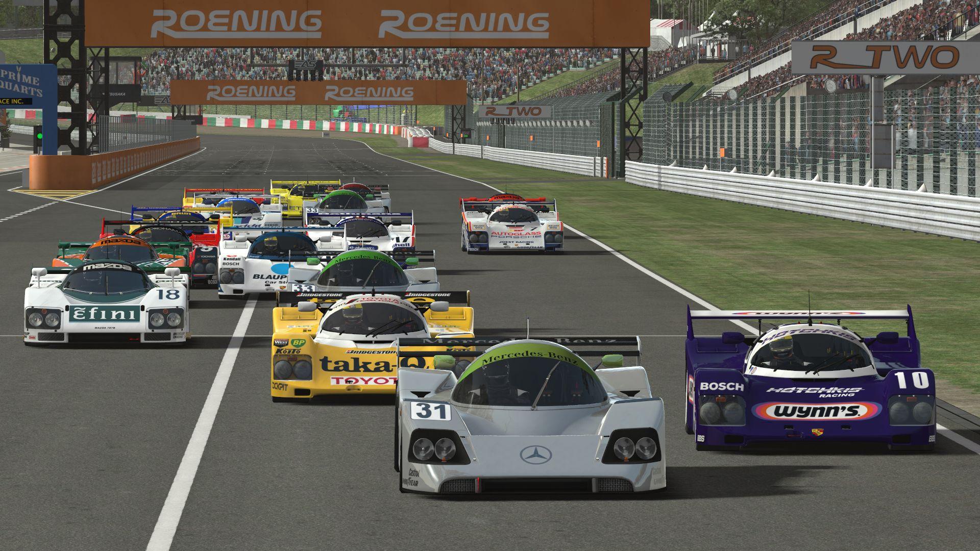 Race Car Virtual Show