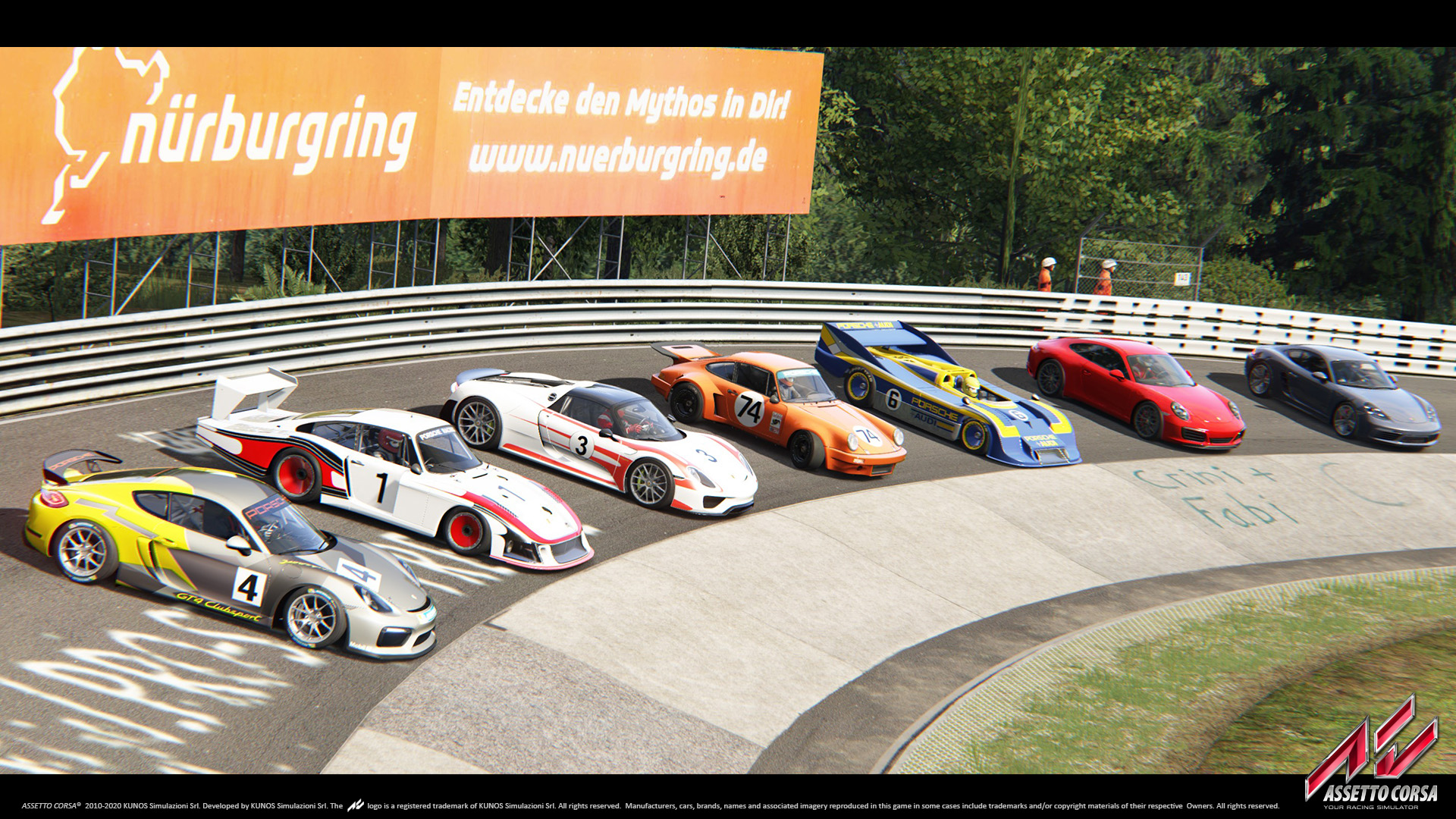 Big Batch of Porsche DLC Previews for Assetto Corsa