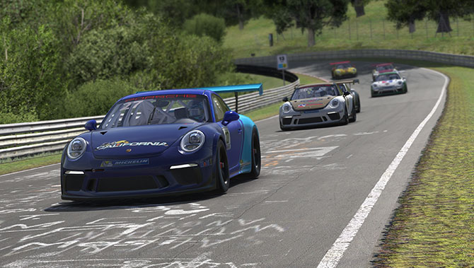 Porsche 911 GT3 Cup for iRacing Now Available – VirtualR net – 100