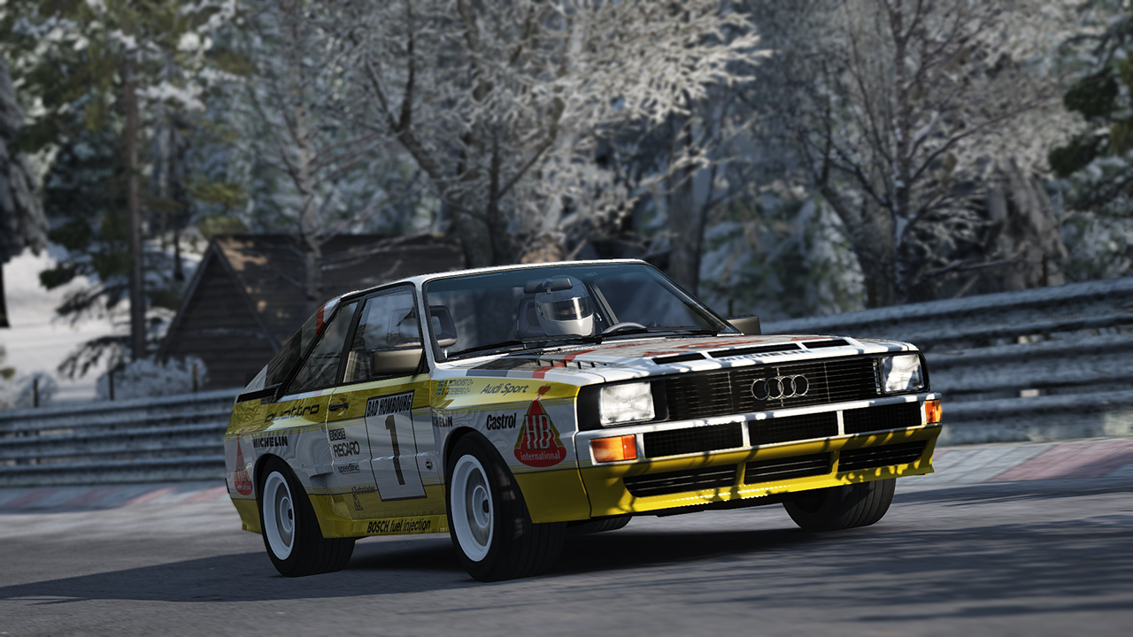 Winter Nordschleife Mod for Assetto Corsa Released
