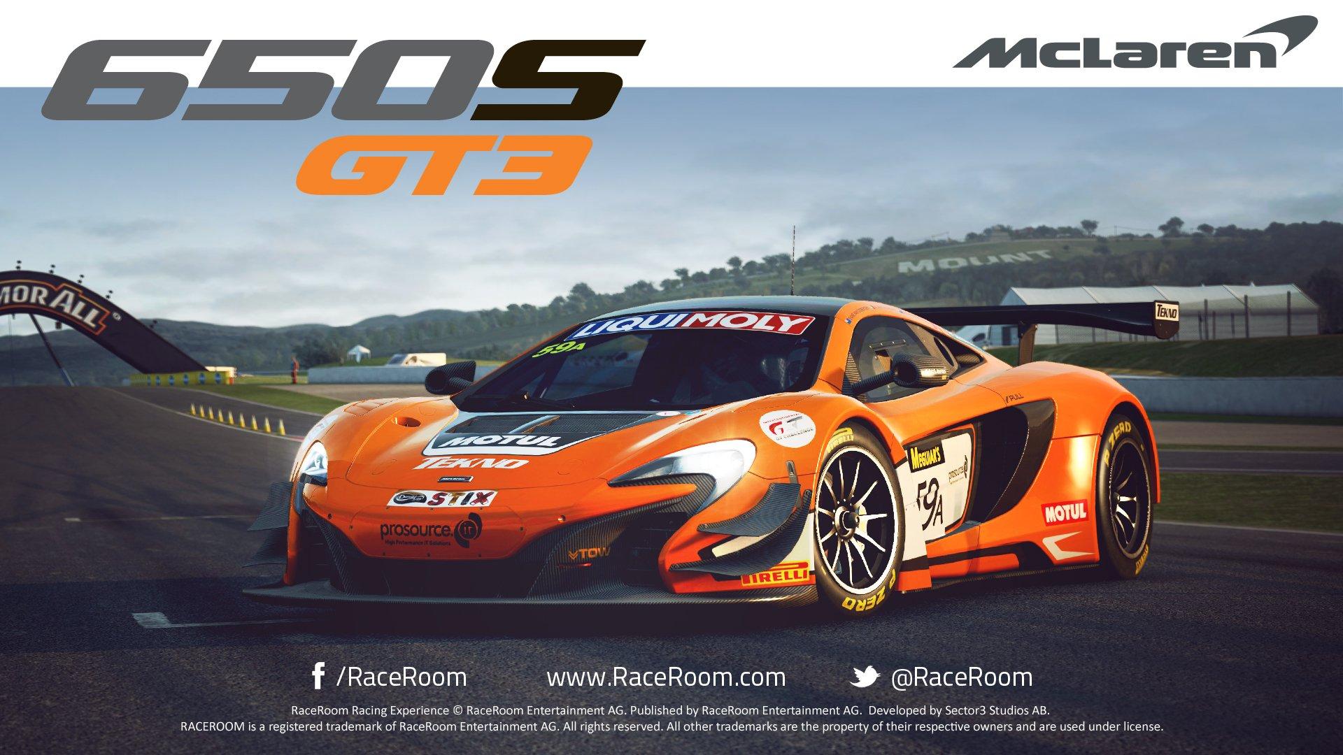 mclaren 650s gt3 now available for r3e – virtualr – 100