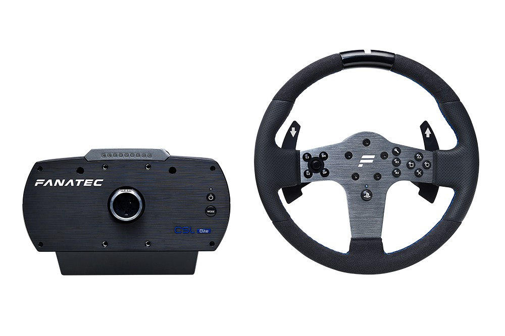 fanatec csl elite wheel for ps4 now available virtualr. Black Bedroom Furniture Sets. Home Design Ideas