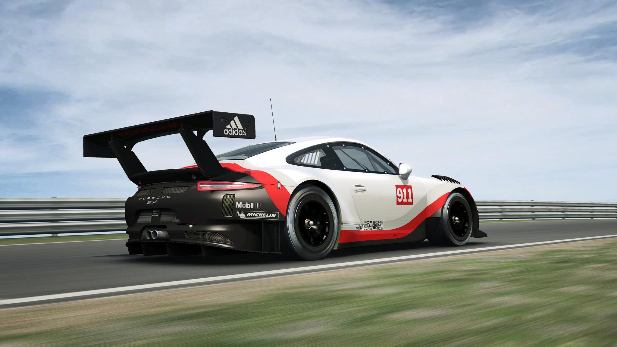 the porsche 911 gt3 r completes r3es porsche trifecta sim racing news. Black Bedroom Furniture Sets. Home Design Ideas