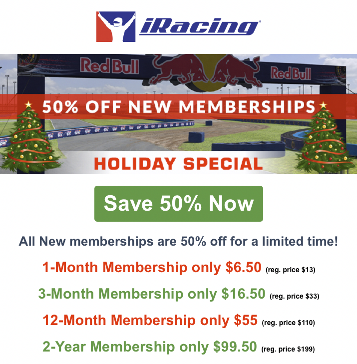 iRacing Holiday Special