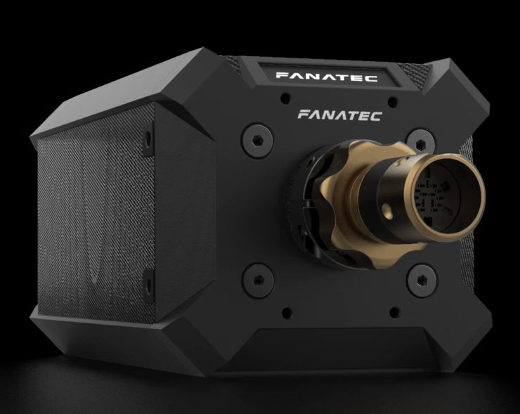Fanatec Unveils Podium Series Direct Drive Wheel Bases