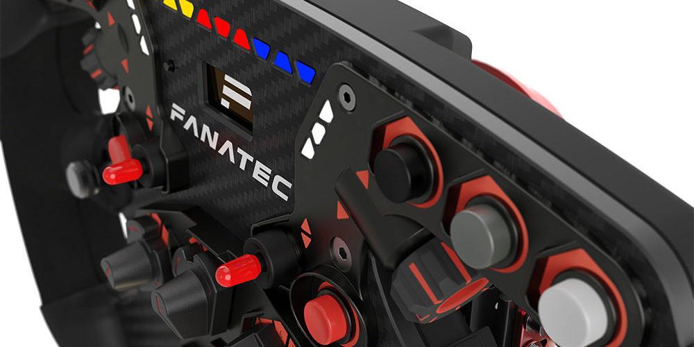 Fanatec steering wheel
