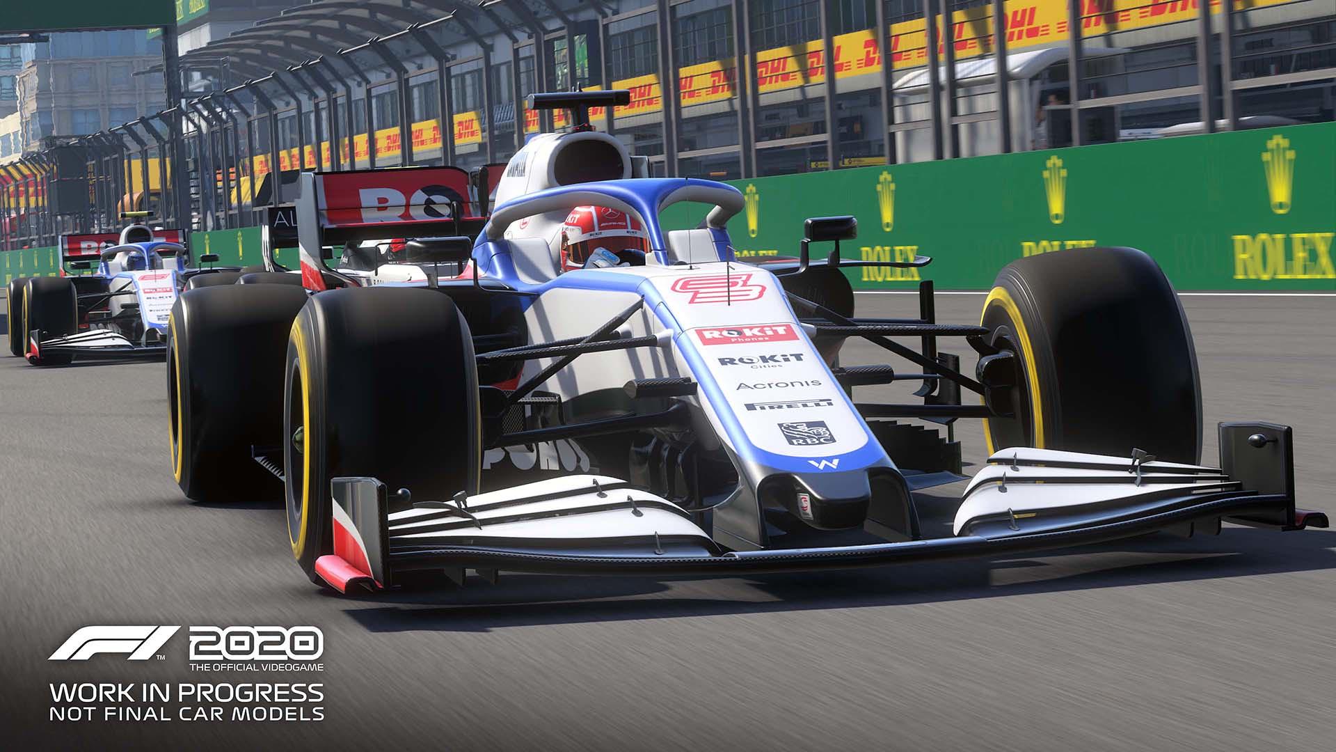 Plenty Of New F1 2020 Screenshots   VirtualR.net - 100% ...