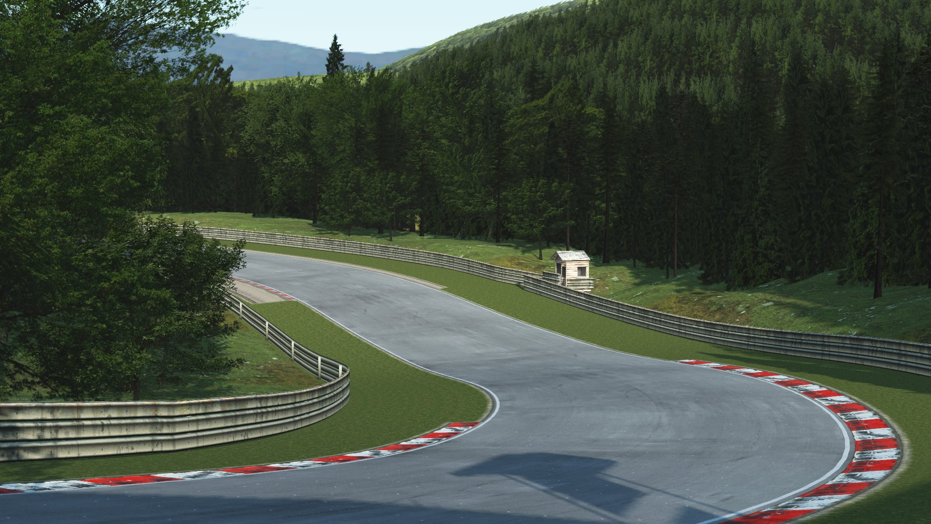 GRAB_556 Deep Forest Raceway for rFactor 2 – Previews
