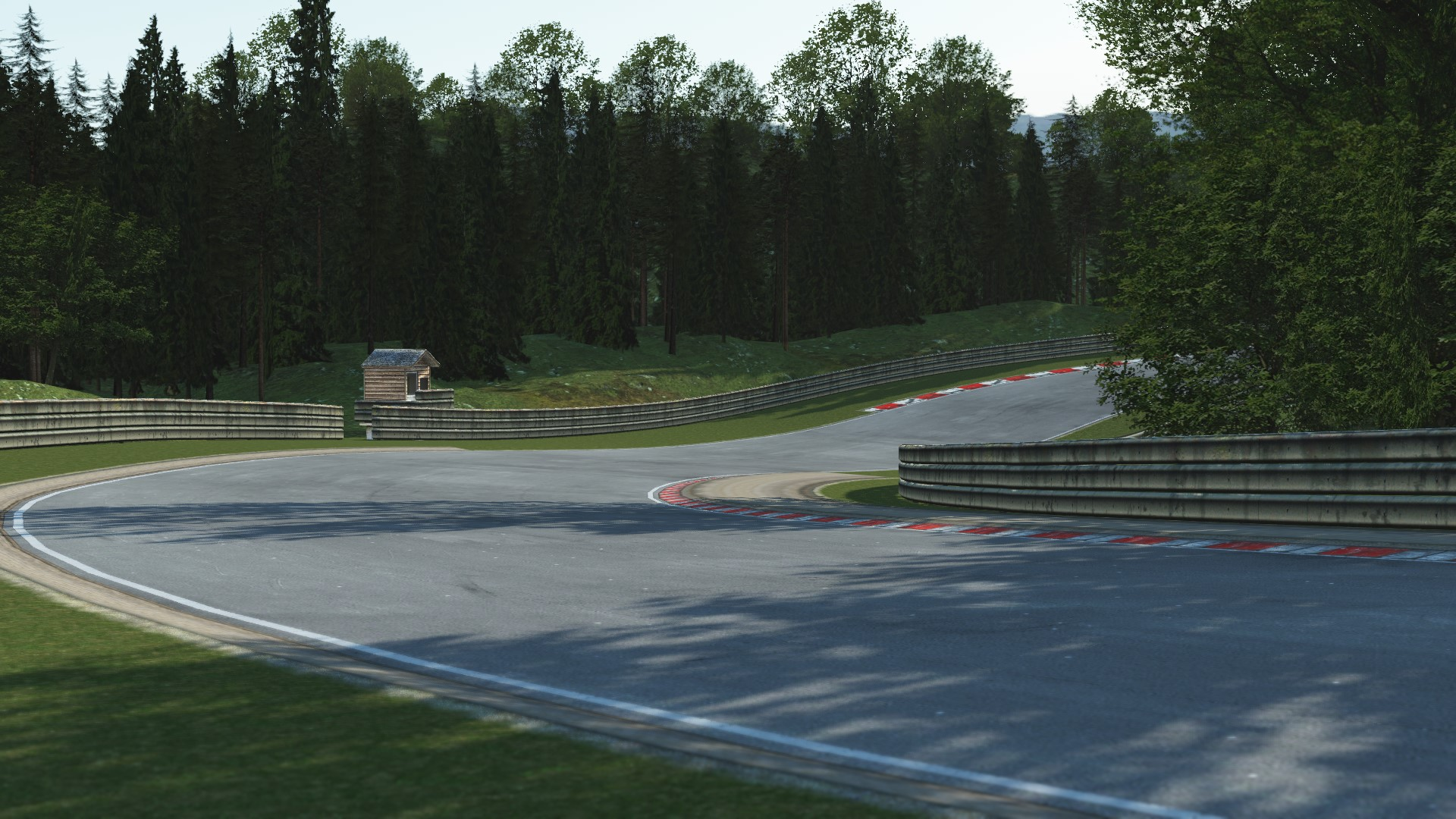 GRAB_557 Deep Forest Raceway for rFactor 2 – Previews