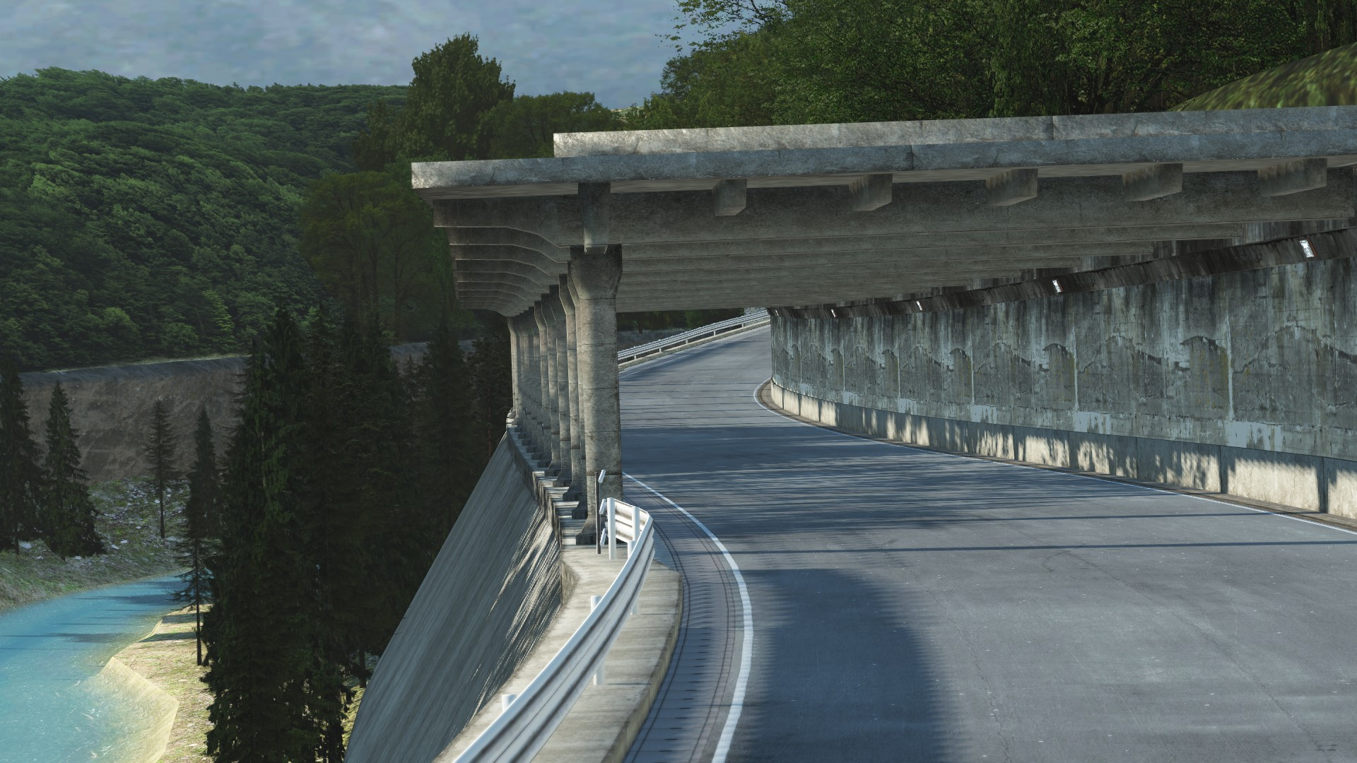 GRAB_558 Deep Forest Raceway for rFactor 2 – Previews
