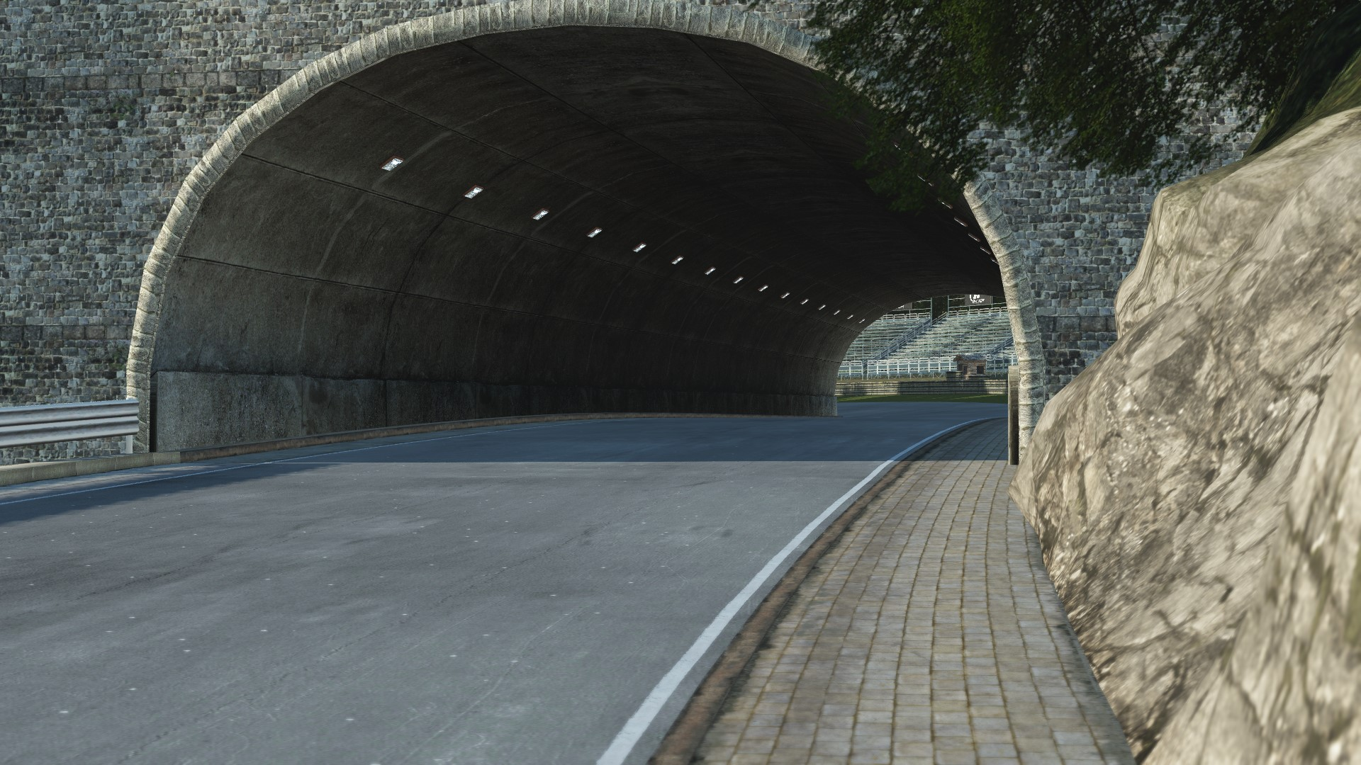 GRAB_559 Deep Forest Raceway for rFactor 2 – Previews