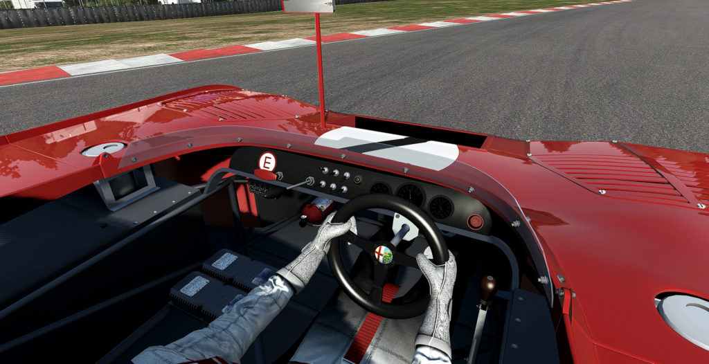 tt12_cockpit3mskoh-1024x526 Alfa Romeo Tipo 33TT12 for rFactor 2 – First Cockpit Preview