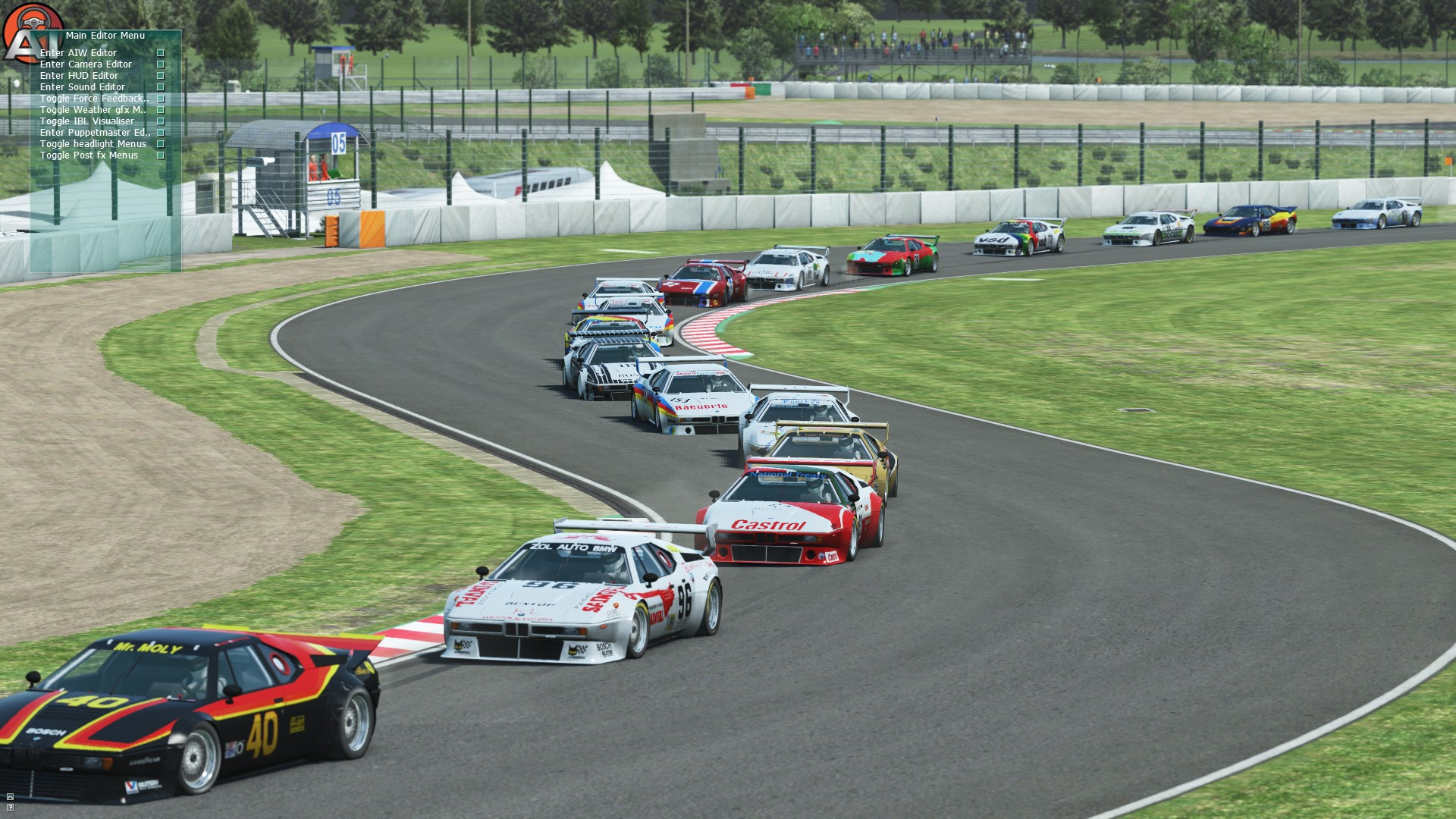 GRAB-034 GTPC 1984 for rFactor 2 – First BMW M1 Previews