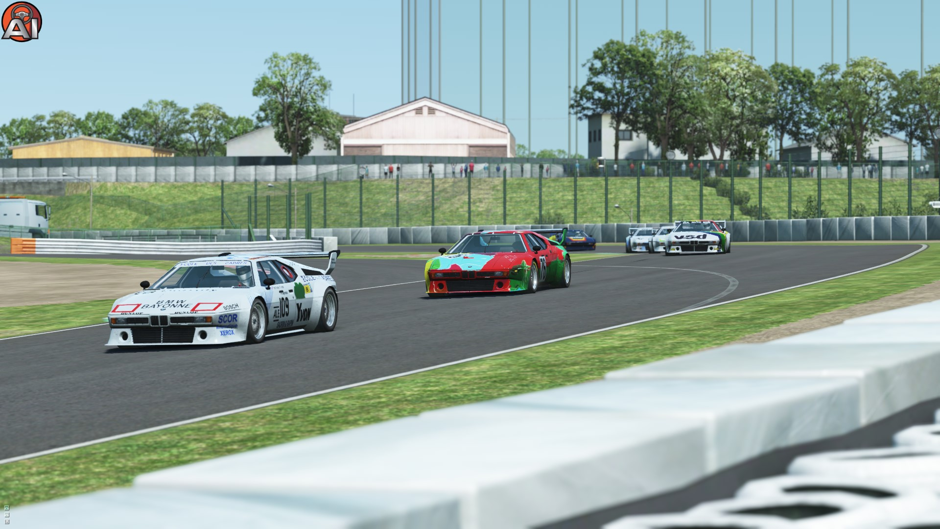 GRAB-035 GTPC 1984 for rFactor 2 – First BMW M1 Previews
